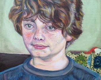 16x20 oil portrait - bust