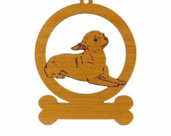 Chihuahua Down Ornament 082109 Personalized With Your Dog's Name