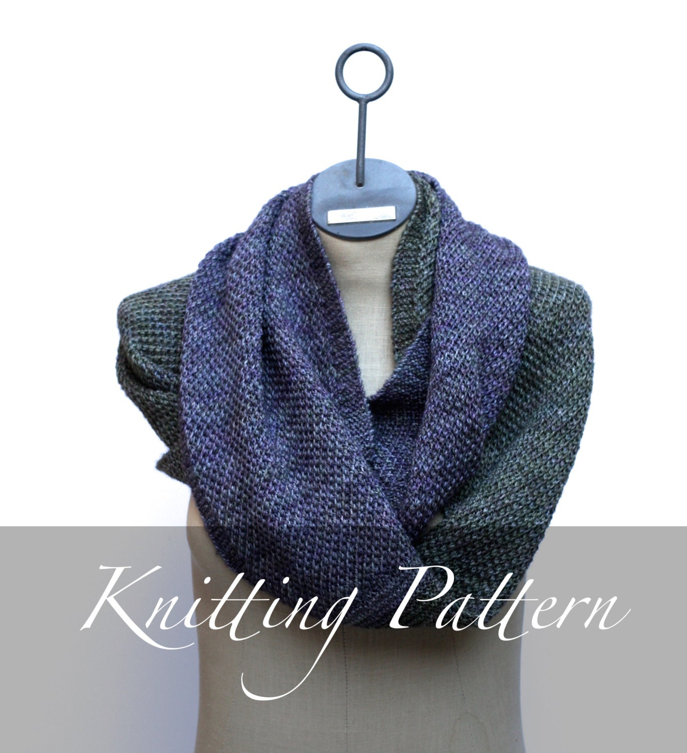 Knitting Pattern - The Ombré Cowl - Scarf Pattern - Infinity Scarf ...