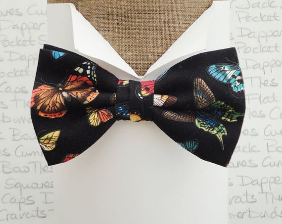 Bow ties for men, butterfly bow tie, bow tie for a Lepidopterist