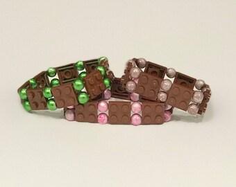 Brown Lego Bracelet