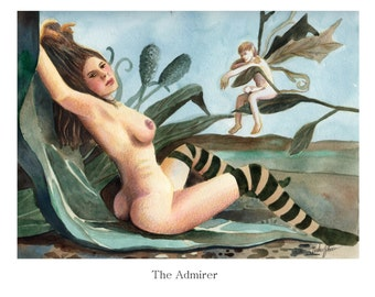 Self-Published Mature Content Adult Only Fairy Fantasy Erotic Book.