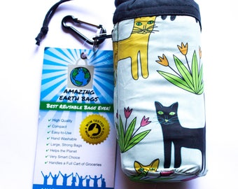 Full set! Amazing Reusable Bags !!!  Cats