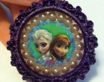 Sale *** Disney's Frozen Elsa and Anna Pendant