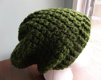 Crochet Slouchy Beanie.