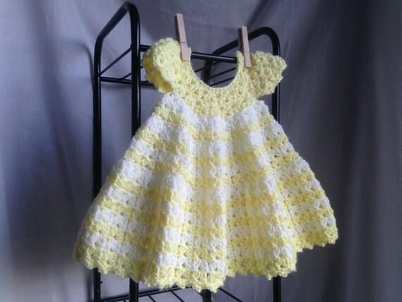 Crochet PATTERN - baby dress crochet pattern, summer crochet baby ...