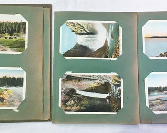 HAYNES STUDIO YELLOWSTONE, lot of  55 postcards