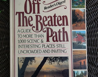 Off the beaten path - guidebook - hardcover