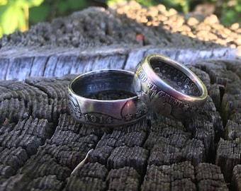 U.S. Barber Half Dollar Ring 90% Silver