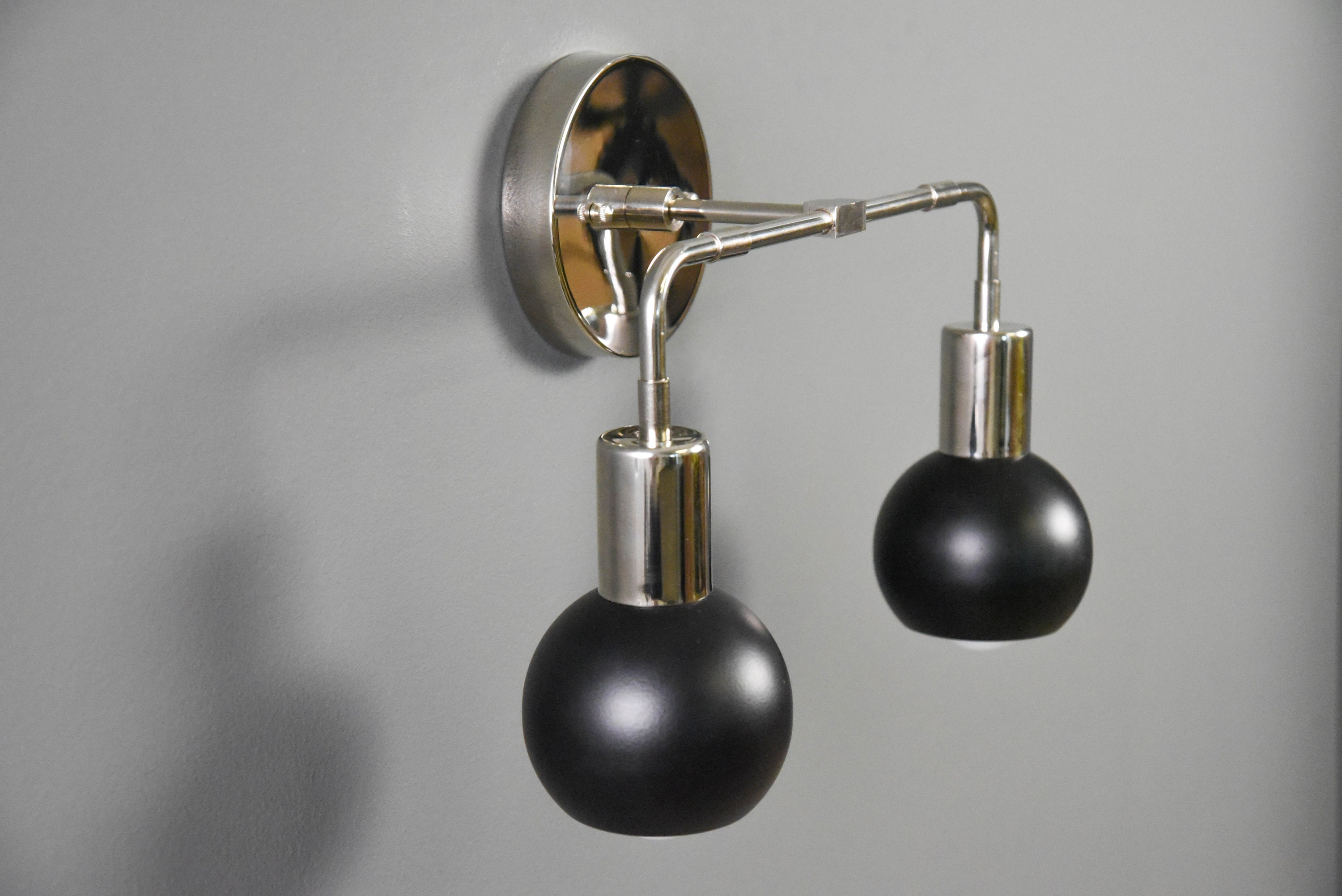 industrial gold and lamp sconce sensational bathroom modern wall fixtures etsy light bare