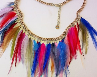CHOKER FEATHER FINE