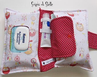 Owls bag Diaper Carrier Indians-baby-babies-diaper clutch