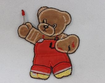 Teddy Bear Artist Patch
