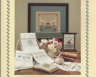 """Clearance - """"A Shaker Sampling""""  Counted Cross Stitch Chart by Margaret & Margaret"""
