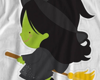 Wizard Of OZ - Wicked Witch - Iron On Transfer