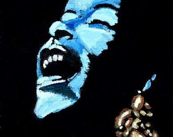 Lady Sings the Blues - 11 x 14 signed and limited reproduction on polymer
