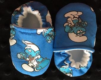 Smurfs Crib Shoes