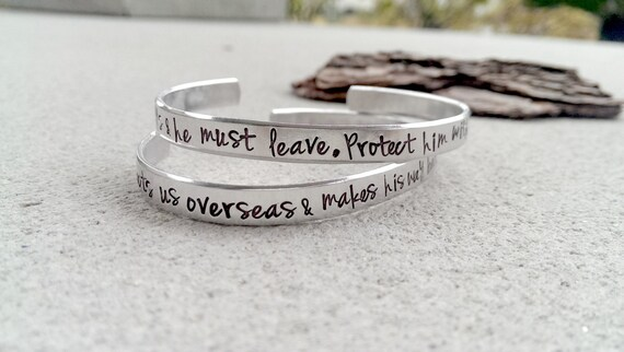 Military wife bracelet military prayer military girlfriend altavistaventures Image collections