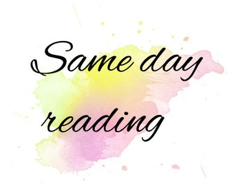 SAME DAY READING, one question psychic Oracle or Tarot card reading