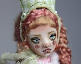 Porcelain BJD Doll Victorian Strawberry Clown Maya FHDolls Forgotten Hearts