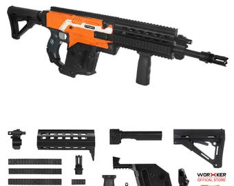 Worker MOD F10555 H&K G56 Imitation Kit 3D Printing Combo for Nerf STRYFE  Modify Toy