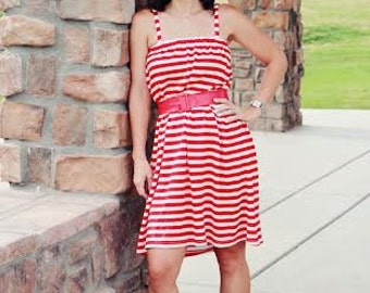 Dress sewing pattern for Women- sundress dress sewing pattern, dress, womens pdf sewing pattern, DIY dress