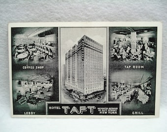 Hotel Taft Seventh Avenue at 50th Street New York  Post Card #28