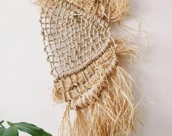 Macrame and weaving wall hanging| Fibre art| Home decor | Wall decor | Texture |