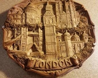 London Souvenir Wall Plaque