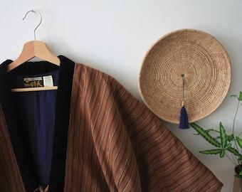 Japanese padded Hanten Jacket Kimono