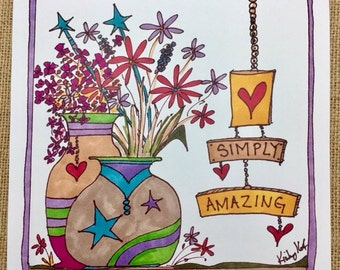 Simply Amazing Feel Good Card