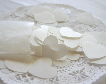Dissolvable Wedding Confetti, BULK Hearts or Circles, Wedding Send Off Toss