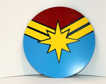 Captain Marvel Wall emblem