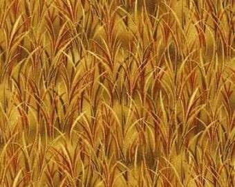 Golden harvest metallic grass
