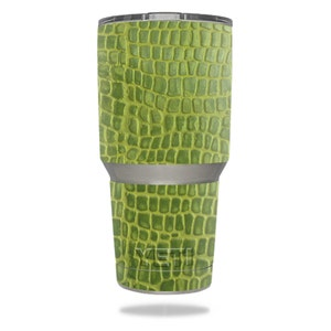 Skin Decal Wrap for YETI RTIC Ozark Trail 30oz Rambler Tumbler sticker skins Croc Skin