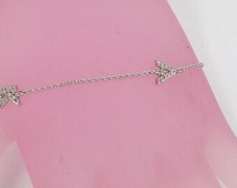 diamond bracelet  initials   ,