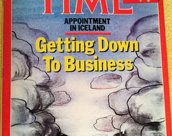 Time Magazine October 13, 1986