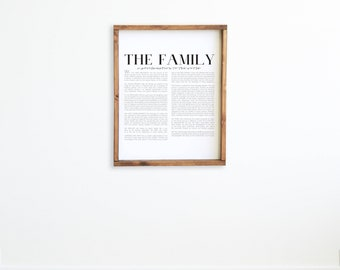 The Family: A Proclamation to the World