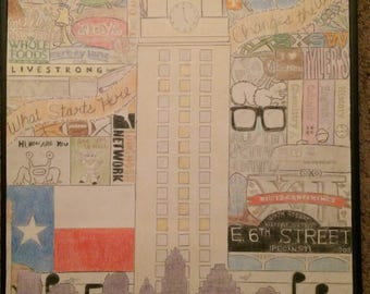 College City Collage Wall Art