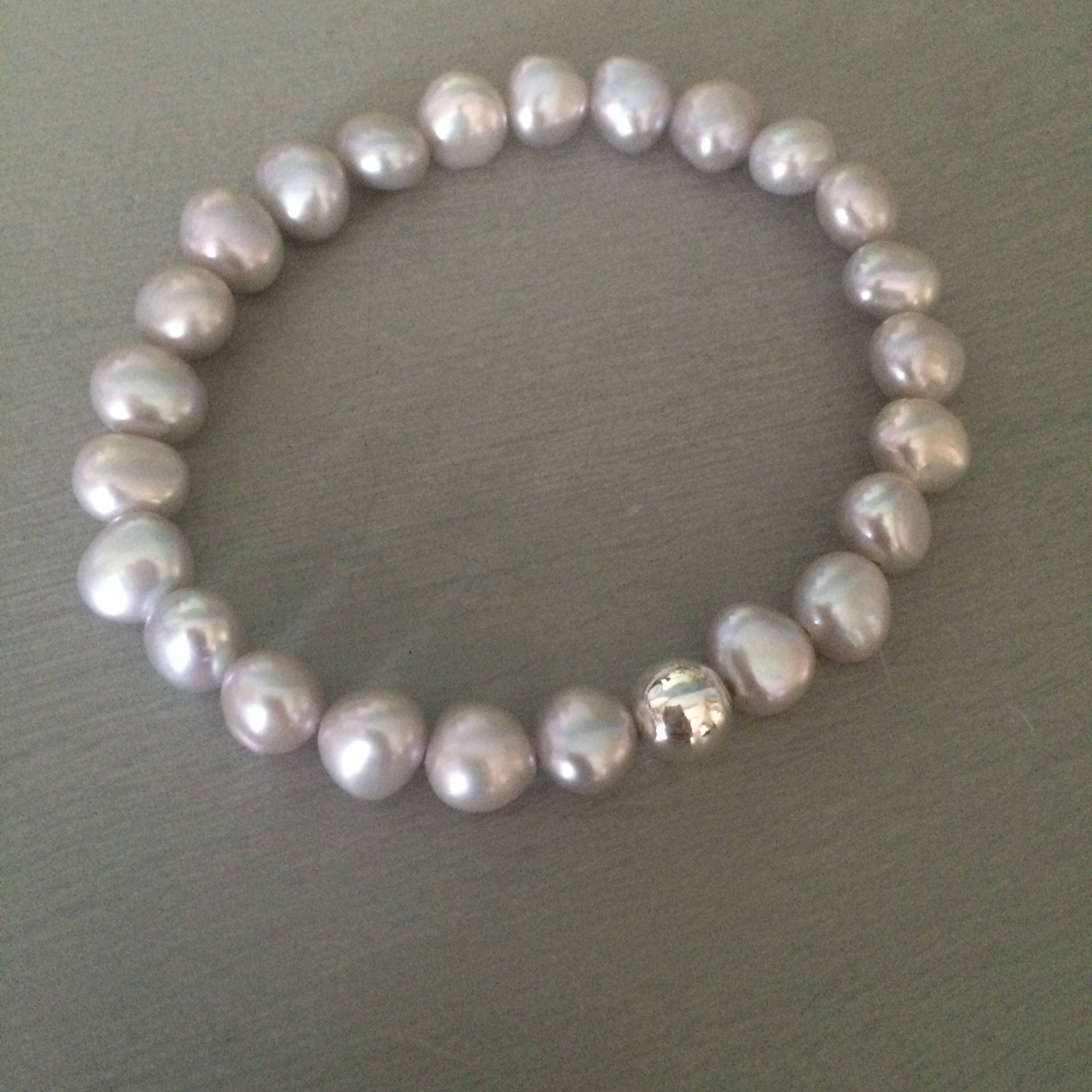 bracelet pearl with freshwater products ball classic white clasp gold
