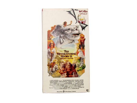 The Never Ending Story 2 VHS