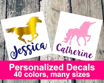 Personalized Animal Decal
