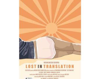 Lost In Translation - Original Graphic Art Movie Poster