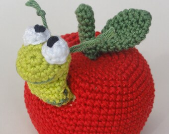 Amigurumi Crochet Pattern - William the Worm - English Version