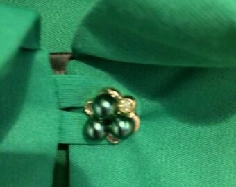 Genuine Vintage Green Blouse