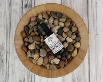 Organic Frankincense Essential Oil • Pure • Uncut • Therapeutic Grade • 10ml / 0.3 oz Amber Glass Bottle With Dropper Caps