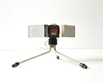 Vintage Philips Holland EL1979 Stereo Dynamic Microphone