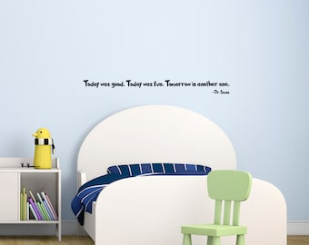 Dr Seuss, Wall Decal, Quote, Removable Wall Sticker, Children's Room, Gift Ideas