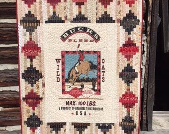 Cowboy Quilt Montana Made
