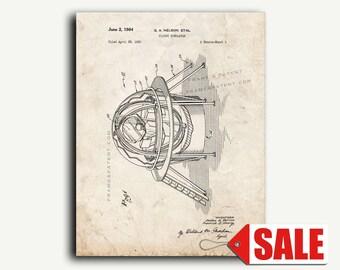 Patent Print - Flight Simulator Patent Wall Art Poster